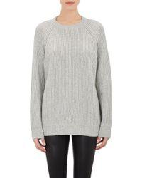 T By Alexander Wang English Rib-Knit Sweater - Lyst