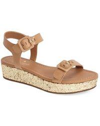 Kate Spade 'Teigan' Platform Sandal - Lyst