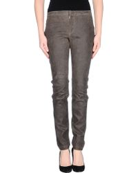 Theyskens' Theory Casual Trouser gray - Lyst