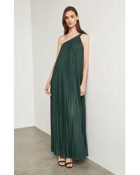 BCBGMAXAZRIA - Bcbg Abee Pleated Maxi Dress - Lyst