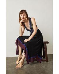 BCBGMAXAZRIA - Bcbg Embroidered Handkerchief Dress - Lyst