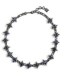 BCBGMAXAZRIA - Chain Spike Necklace - Lyst