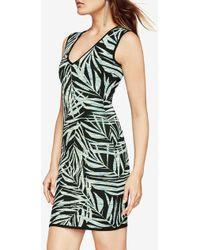 BCBGMAXAZRIA - Bcbg Gari Palms Knit Jacquard Dress - Lyst