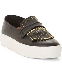 BCBGMAXAZRIA - Bcbg Dita Studded Leather Sneakers - Lyst