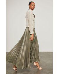 BCBGMAXAZRIA - Dallin Pleated Maxi Skirt - Lyst