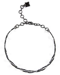 BCBGMAXAZRIA - Bcbg Pave Looped Choker Necklace - Lyst