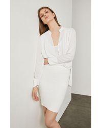 BCBGMAXAZRIA - Bcbg Alexa Sweater Skirt - Lyst