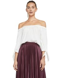 BCBGMAXAZRIA - Tamsin Off-the-shoulder Top - Lyst
