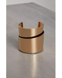 BCBGMAXAZRIA - Bcbg Modern Layered Cuff Bracelet - Lyst