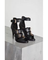 BCBGMAXAZRIA - Bcbg Gloria Leather Stiletto Sandal - Lyst