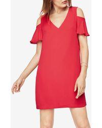BCBGMAXAZRIA - Bcbg Kia Cold-shoulder Dress - Lyst