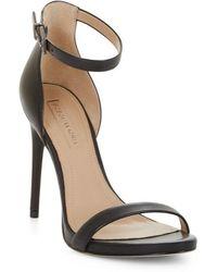 BCBGMAXAZRIA - Dona Leather Sandals - Lyst