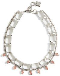 BCBGMAXAZRIA - Layered Stone Necklace - Lyst
