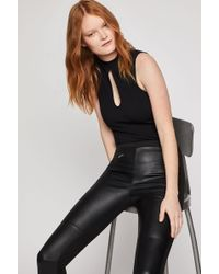 BCBGeneration Sleeveless Keyhole Bodysuit