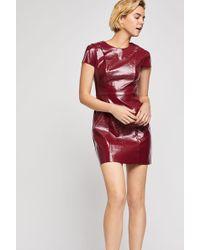BCBGeneration - Patent Pleather Sheath Dress - Lyst