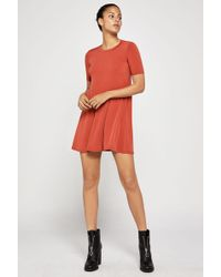 BCBGeneration - Back Yoke A-line Dress - Lyst