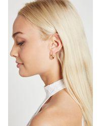 BCBGeneration - Small Stud Huggie Earring - Lyst