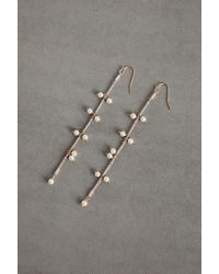 BCBGeneration Faux Pearl Chain Earring