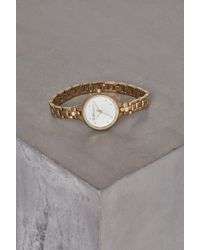 BCBGeneration - Gold-tone Crystal Bracelet Watch - Lyst