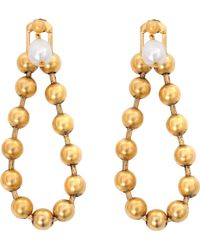 Ela Stone - Gilda Pearl Earrings - Lyst