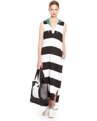 DKNY Jeans International Stripe Tank Dress - Lyst