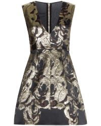 Alice + Olivia Pacey Jacquard Dress - Lyst