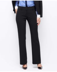 Ann Taylor Curvy Triacetate Trousers - Lyst