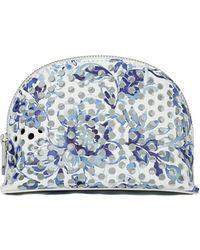 Loeffler Randall - Women's Large Perforated Cosmetic Bag - Lyst