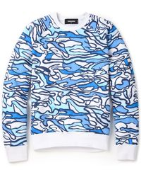 DSquared² Blue Water Pullover - Lyst