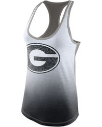 Nike Women'S Georgia Bulldogs Racerback Shift Tank - Lyst