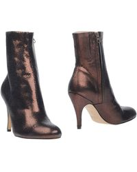 Nora Ankle Boots - Lyst