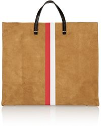 Clare V. - Simple Leather And Suede Tote - Lyst