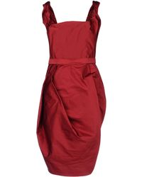 Vivienne Westwood Red Label 34 Length Dress - Lyst
