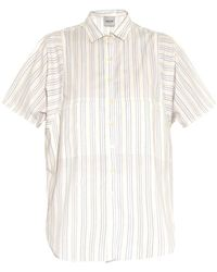Rachel Comey Finch Striped Cotton Shirt - Lyst