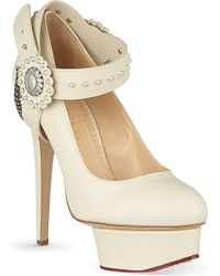 Charlotte Olympia Desperado Dolly Court Shoes - For Women - Lyst