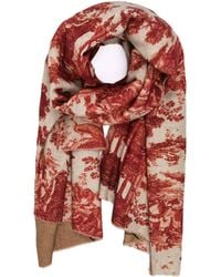 Undercover - Reversible Print Scarf - Lyst