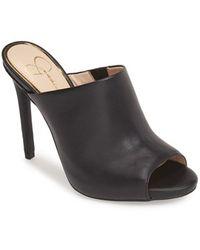 Jessica Simpson 'Rian' Mule black - Lyst