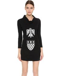 KTZ - Round Collar Dress - Black/white - Lyst