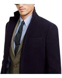Polo Ralph Lauren Polo Wool Topcoat - Lyst