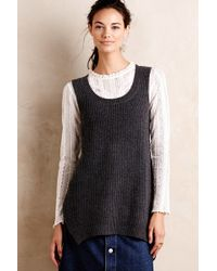 Knitted & Knotted - High-low Sweater Vest - Lyst