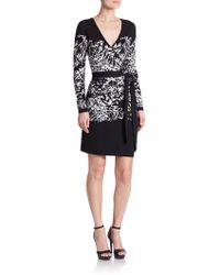 Diane von Furstenberg | Leandra Merino Wool Wrap Dress | Lyst