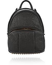 Alexander Wang Dumbo Backpack in Pebbled Black with Antique Brass - Lyst