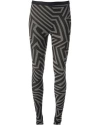 Gareth Pugh Printed Leggings - Lyst