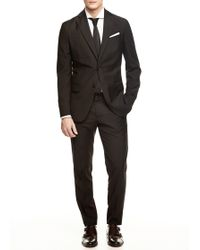 Mango Slimfit Suit Blazer - Lyst