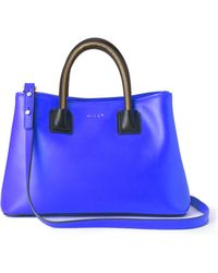 Milly Logan Zip Small Tote - Lyst