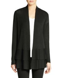 Eileen Fisher Petite Open-Front Sweater - Lyst