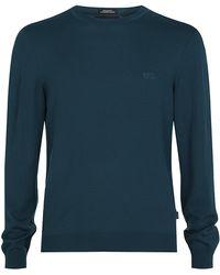 Boss Black Bagritte Crew Neck Sweater - Lyst