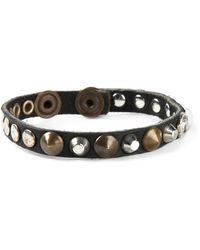 Diesel Alie Studded Bracelet - Lyst