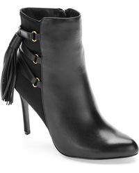 Adrianna Papell - Isabelle Fringed Stiletto Boots - Lyst