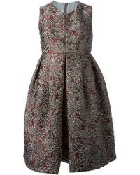 Dolce & Gabbana Floral Jacquard Dress - Lyst